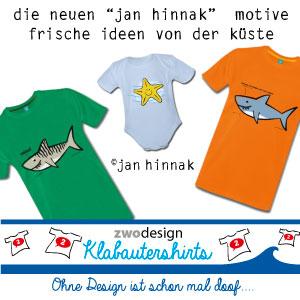Klabautershirts für Bucht-Entdecker