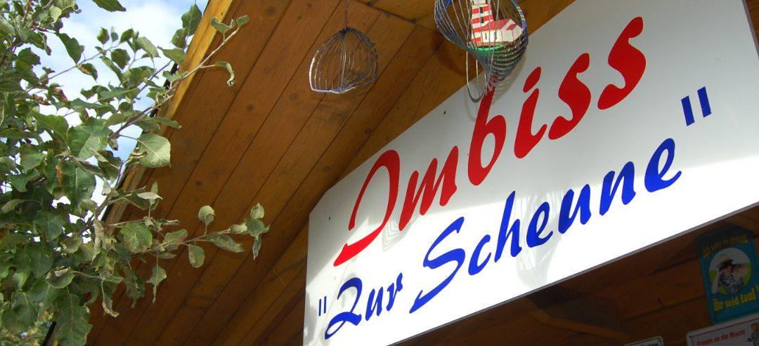 """Für hungrige Entdecker – Imbiss """"Zur Scheune"""" in Kägsdorf"""